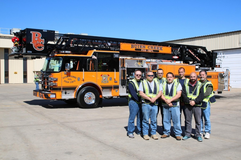 Production on Ladder 848 is now complete